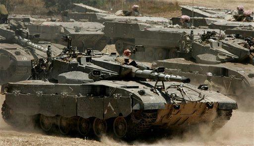 IDF-Tanks-On-the-Move